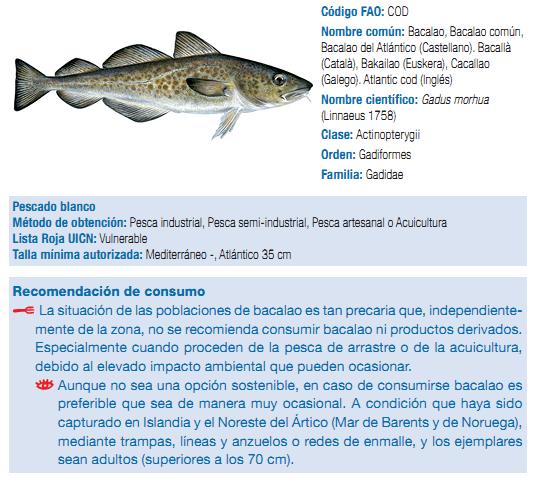 Bacalao Ecologistas en Acción